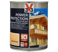Антисептик V33 Power Protection для долговечной защиты дерева 0.9 л