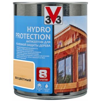 Антисептик V33 Hydro Protection для усиленной защиты дерева