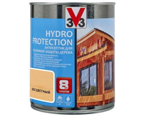 Антисептик V33 Hydro Protection для усиленной защиты дерева 0.9 л