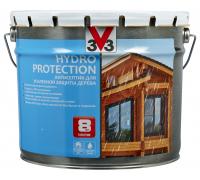 Антисептик V33 Hydro Protection для усиленной защиты дерева 9 л