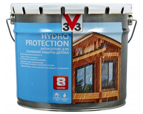 V33 Hydro Protection антисептик для усиленной защиты дерева 9 л
