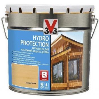Антисептик V33 Hydro Protection для усиленной защиты дерева 2.5 л