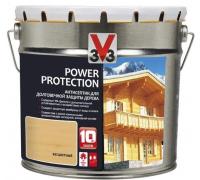 Антисептик V33 Power Protection для долговечной защиты дерева 2.5 л
