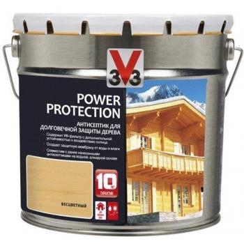 V33 Power Protection антисептик для долговечной защиты дерева 2.5 л