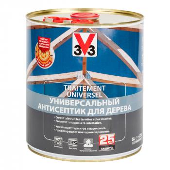 Универсальный антисептик для защиты дерева ТРИТМЕНТ 3V3 10 л