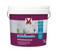 Краска для стен и потолков WHITE RENOVATION 3V3 2.5 л Латексная