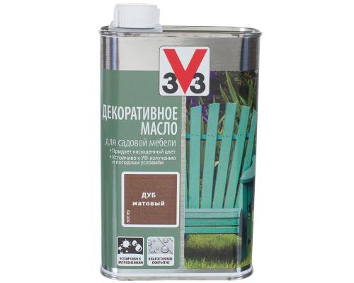 ДЕКОРАТИВНОЕ МАСЛО 3V3 0.5 л для садовой мебели